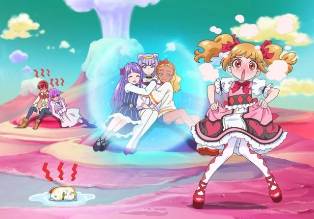 PreCure Miracle Universe visual 2