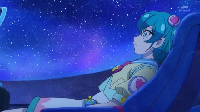 Lala in the planetarium