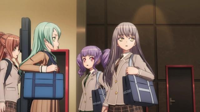 Lisa, Sayo, Ako and Yukina