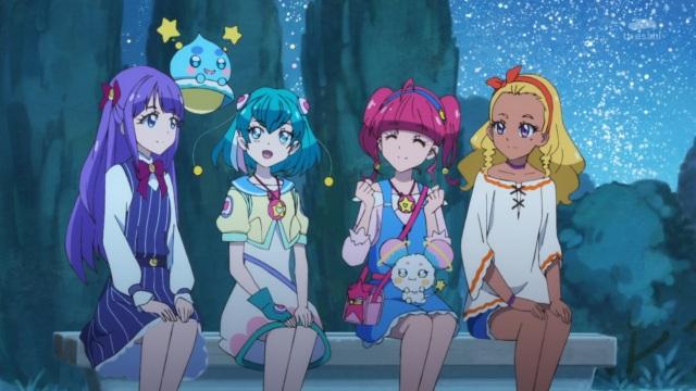 Madoka, Puruns, Lala, Hikaru, Fuwa and Elena
