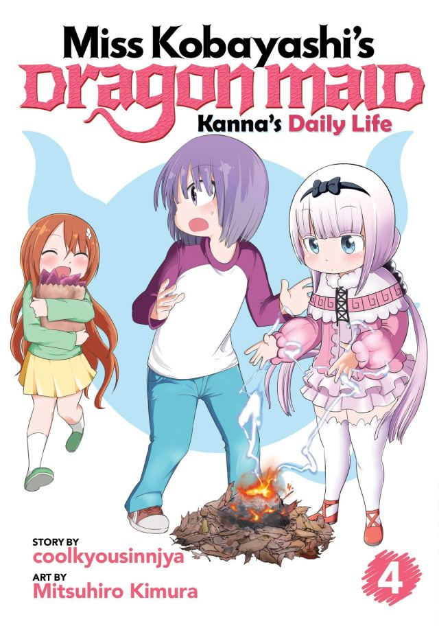 Miss Kobayashi's Dragon Maid Kanna's Daily Life Volume 4