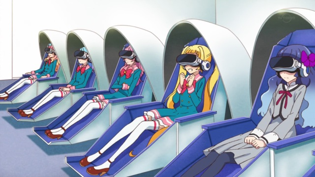 Virtual Aikatsu Goggles