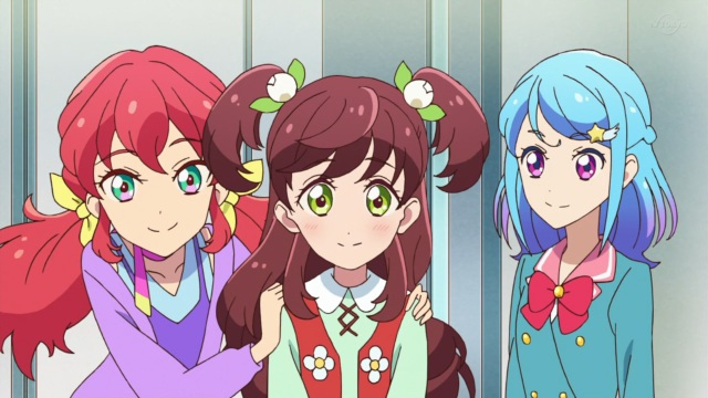 Mirai, Wakaba and Mio