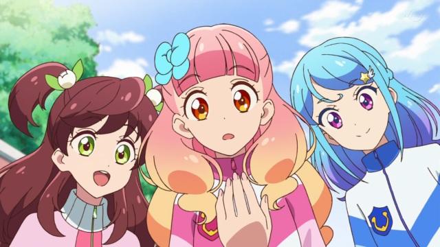 Wakaba, Aine and Mio