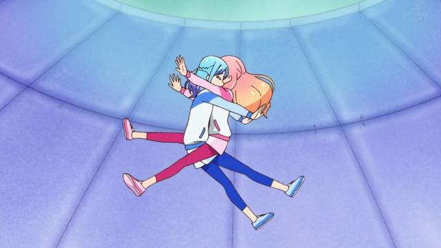 Zero Gravity Aine and Mio