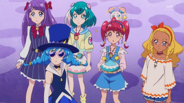 Blue Cat and PreCure