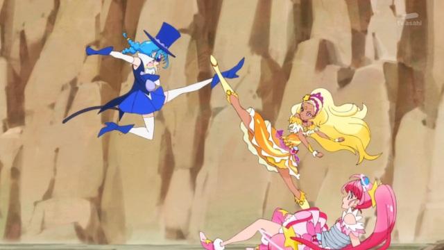 Fighting Blue Cat