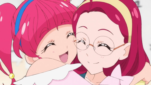 Hikaru hugs Terumi