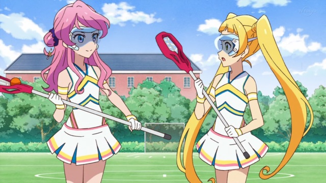 Ema & Maika lacrosse uniforms