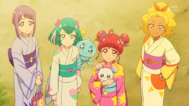 Madoka, Lala, Hikaru & Elena