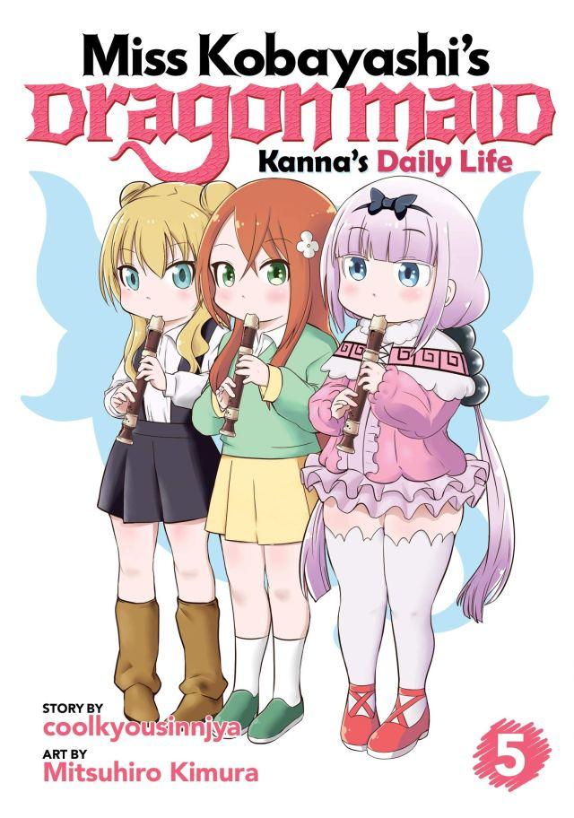 Miss Kobayashi's Dragon Maid Kanna's Daily Life Volume 5