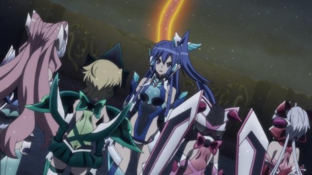 Maria, Kirika, Tsubasa, Shirabe & Chris