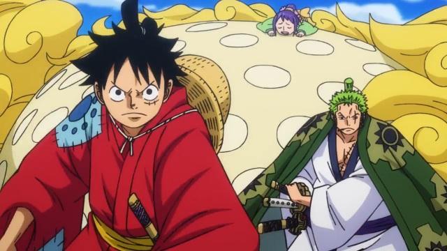 OP = Luffy, Zoro and Otama