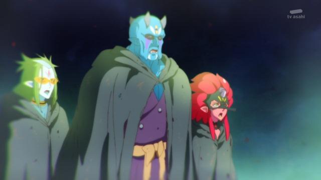 Kappard, Garuouga & Tenjou