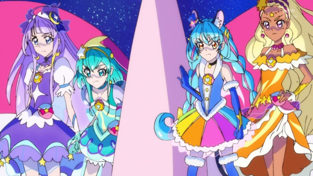 Selene, Milky, Cosmo & Soleil