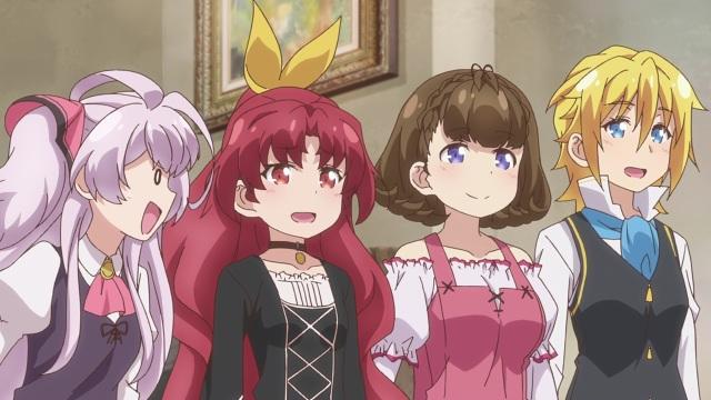 Mile, Reina, Pauline and Mavis