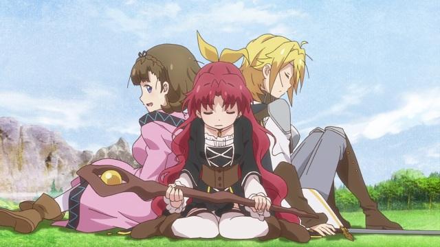 Pauline, Reina and Mavis