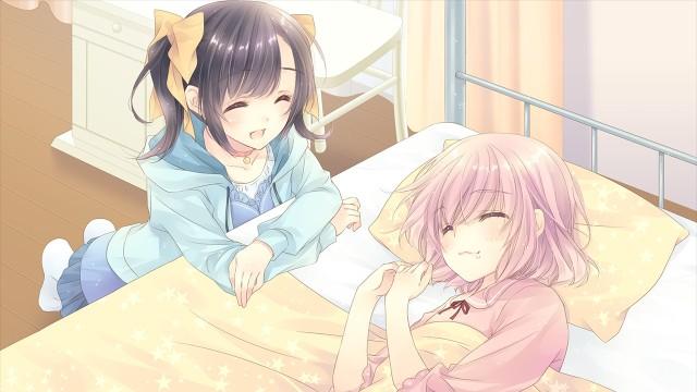 Nao wakes Asuka