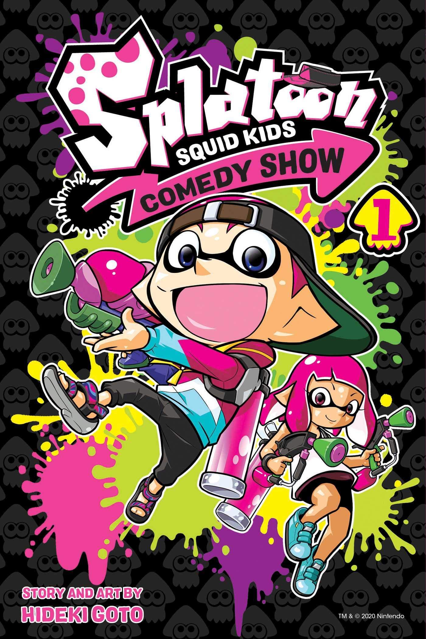 Splatoon Squid Kids Comedy Show Volume 1