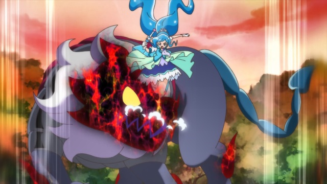 Cure Fontaine attacks