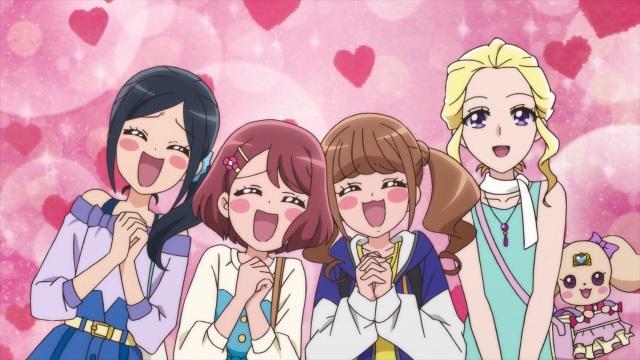 Chiyu, Nodoka, Hinata, Asumi & Latte