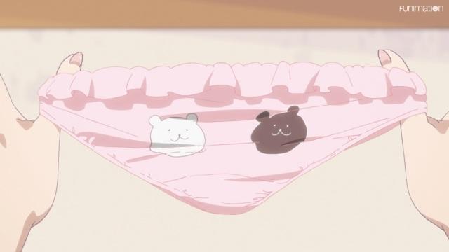 Yuna's underwear