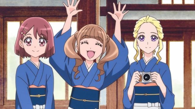 Nodoka, Hinata and Asumi