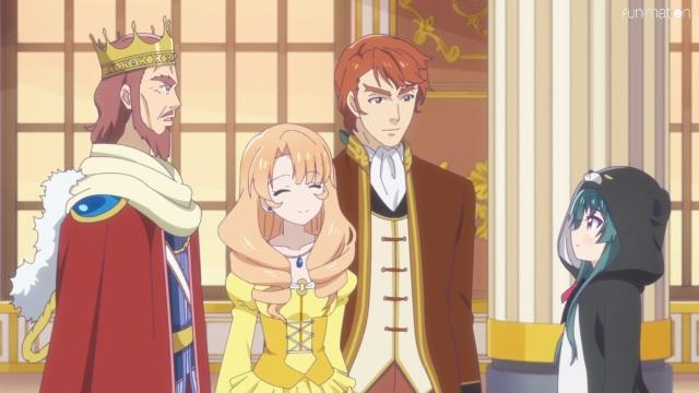 Yuna meets the king