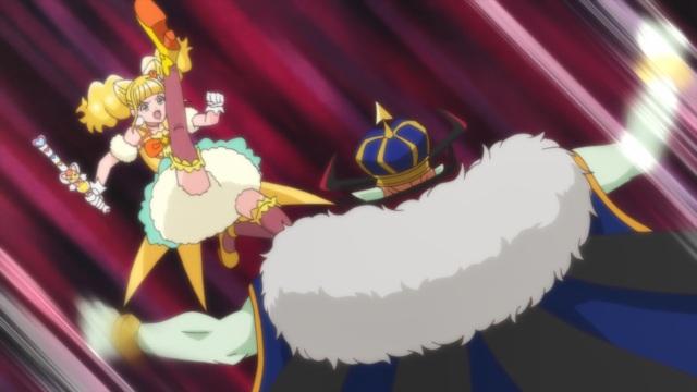 Hinata attacks King Guaiwaru