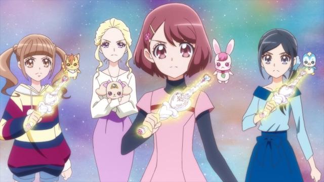 Hinata, Nyatoran, Asumi, Latte, Nodoka, Rabirin, Chiyu & Pegitan