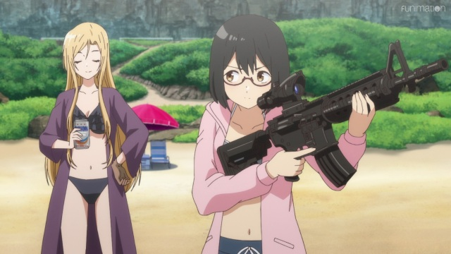 Sorawo practices shooting