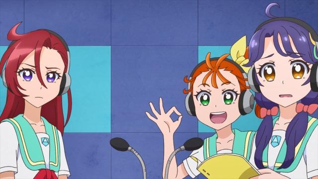 Asuka, Manatsu and Sango