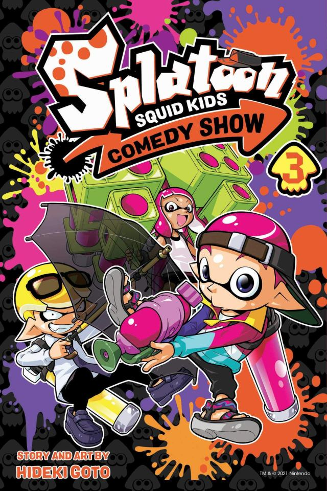 Splatoon Squid Kids Comedy Show Volume 3