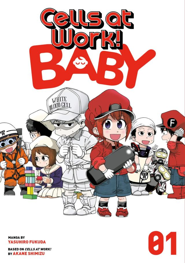 Cells at Work! Baby Volume 1