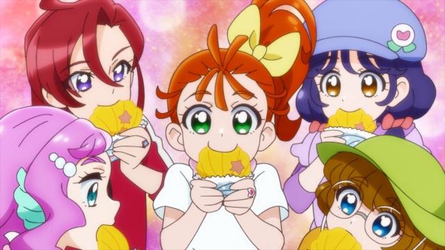 Laura, Asuka, Manatsu, Sango & Minori