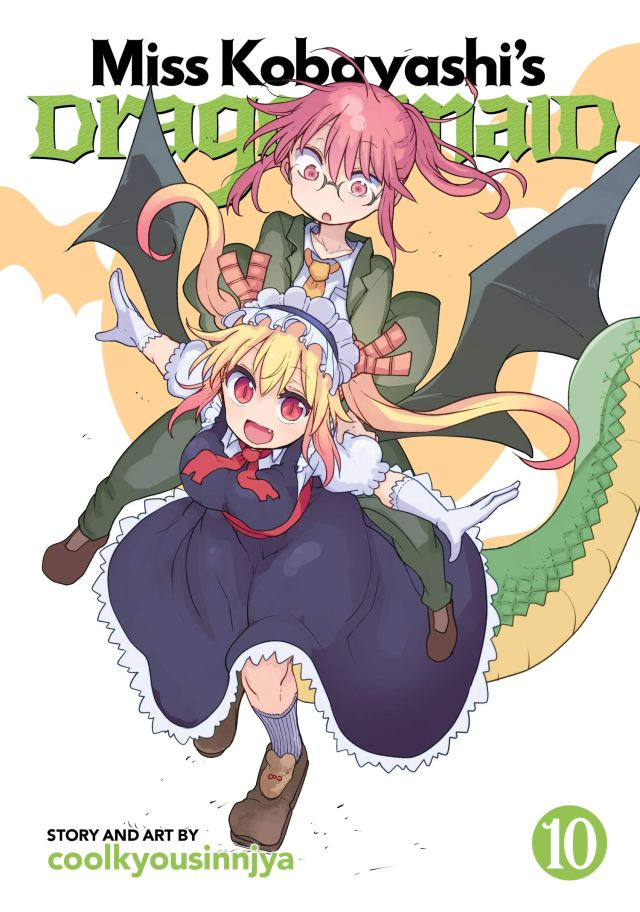 Miss Kobayashi's Dragon Maid Volume 10