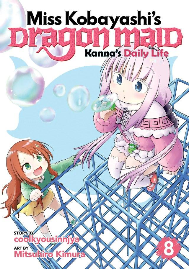 Miss Kobayashi's Dragon Maid Kanna's Daily Life Volume 8