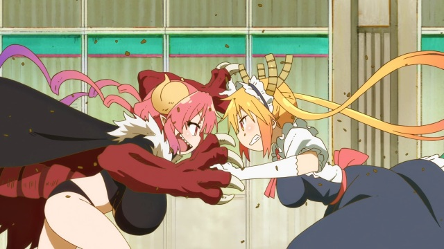 Tohru vs Ilulu